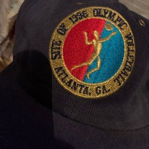 Atlanta Olympics hat merch 1996 vintage og cap new